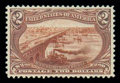Stamps, (293) 1898, $2 Trans-Miss....