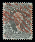 Stamps, (37a) 1860, 24¢ gray...