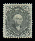 Stamps, (78) 1863, 24¢ lilac...