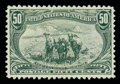 Stamps, (291) 1898, 50¢ Trans-Miss....