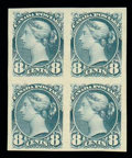 Stamps, (44d) 1895, 8¢ blue gray, imperf...