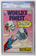 Silver Age (1956-1969):Superhero, World's Finest Comics #114 (DC, 1960) CGC VF+ 8.5 Off-white pages....