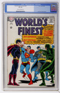 Silver Age (1956-1969):Superhero, World's Finest Comics #159 (DC, 1966) CGC VF 8.0 Cream to off-white pages....