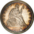 Proof Seated Quarters, 1858 25C Quarter PR67 NGC....