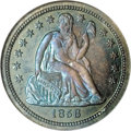 Proof Seated Dimes, 1856 10C Small Date Dime PR67 NGC....