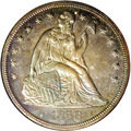 Proof Seated Dollars, 1858 $1 Seated Dollar PR66 NGC....