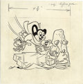 Original Comic Art:Covers, March of Comics #257 Mighty Mouse Cover Original Art (Western,1963). ...