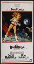 "Movie Posters:Science Fiction, Barbarella (Paramount, 1968). Three Sheet (41"" X 81""). ScienceFiction.. ..."