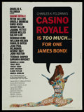 "Movie Posters:James Bond, Casino Royale (Columbia, 1967). Poster (30"" X 40""). James Bond. ..."