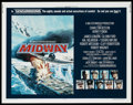 "Movie Posters:War, Midway (Universal, 1976). Half Sheet (22"" X 28""). War. ..."