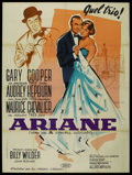"""Movie Posters:Romance, Love In The Afternoon (Allied Artists, 1957). French Grande (47"""" X 63""""). Romance. ..."""