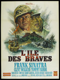 """Movie Posters:War, None But the Brave (Warner Brothers, 1965). French Grande (47"""" X63""""). War. ..."""