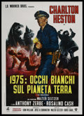 """Movie Posters:Science Fiction, The Omega Man (Warner Brothers, 1971). Italian 2 - Folio (39"""" X55""""). Science Fiction. ..."""