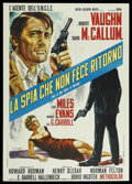 "Movie Posters:Action, One of Our Spies Is Missing (MGM, 1966). Italian 2 - Folio (39"" X55""). Action. ..."