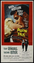 """Movie Posters:Comedy, Pillow Talk (Universal, 1959). Three Sheet (41"""" X 81""""). Comedy. ..."""
