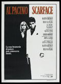 "Movie Posters:Crime, Scarface (Universal, 1983). Italian 2 - Folio (39"" X 55""). Crime...."