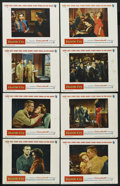 """Movie Posters:War, Battle Cry (Warner Brothers, 1955). Lobby Card Set of 8 (11"""" X14""""). War. ... (Total: 8 Items)"""