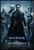 "Movie Posters:Science Fiction, The Matrix (Warner Brothers, 1999). One Sheet (27"" X 40"") DSAdvance. Science Fiction. ..."