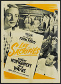 """Movie Posters:War, They Were Expendable (MGM, 1950s). French Petite (23.5"""" X 31.5"""").War. ..."""