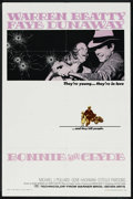 """Movie Posters:Crime, Bonnie and Clyde (Warner Brothers, 1967). One Sheet (27"""" X 41"""").Crime. ...."""