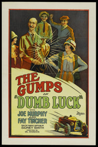 "Dumb Luck (Universal International, 1926). One Sheet (27"" X 41""). Short Subject"