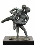 Miscellaneous, CAROL MILLER (American, 20th century). . The Fall of Troy .1970's. Bronze . Unmarked. 26 x 20 x 13 inches (66.0 x 5...