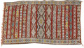 Rugs & Textiles:Carpets, An Wool Area Rug. Unknown, Morocco. 19th century. 115 inches high x64 inches wide. ...