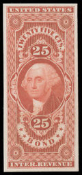 Stamps, (R1P4//R101P4) Revenue, 1862-71 First Issue, 1¢-$50 Plate proofs...