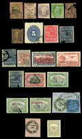 Stamps, Mexico, 1856-1968...