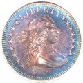 Early Quarters, 1796 25C AU58 PCGS. B-2, R.3....