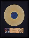 Music Memorabilia:Awards, Elvis In Concert RIAA Gold Record Award (1970s)....