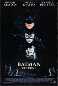 "Movie Posters:Action, Batman Returns (Warner Brothers, 1992). One Sheet (27"" X 40""). Action.. ..."