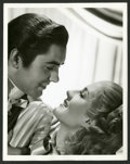 "Movie Posters:Drama, Norma Shearer and Tyrone Power in ""Marie Antoinette"" by Laszlo WIllinger Lot (MGM, 1938). Photos (2) (8"" X 10""). Drama.. ... (Total: 2 Items)"
