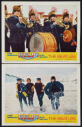 "Movie Posters:Rock and Roll, Help! (United Artists, 1965). Lobby Cards (2) (11"" X 14""). Rock andRoll.. ... (Total: 2 Items)"