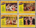 "Movie Posters:Musical, Singin' in the Rain (MGM, 1952). Lobby Cards (4) (11"" X 14""). Musical.. ... (Total: 4 Items)"