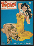 "Movie Posters:Sexploitation, Titter Magazine featuring Bettie Page (Titter Inc., 1955). Magazine(8.5"" X 11.5"", 52 Pages). Sexploitation.. ..."