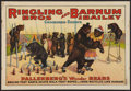 """Movie Posters:Miscellaneous, Circus Poster (Ringling Brothers and Barnum & Bailey, 1920s). Poster (20.5"""" X 28""""). Miscellaneous.. ..."""