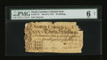 Colonial Notes:North Carolina, North Carolina March 9, 1754 30s PMG Good 6 Net.. ...