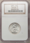 Seated Quarters, 1883 25C MS65 NGC....
