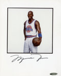 "Basketball Collectibles:Photos, Michael Jordan Signed ""UDA"" Photograph...."