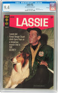 Silver Age (1956-1969):Adventure, Lassie #67 (Gold Key, 1966) CGC NM 9.4 Off-white to white pages....