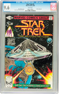 Modern Age (1980-Present):Science Fiction, Star Trek #3 (Marvel, 1980) CGC NM+ 9.6 White pages....