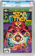 Modern Age (1980-Present):Science Fiction, Star Trek #12 (Marvel, 1981) CGC NM/MT 9.8 Off-white to white pages....