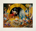 Original Comic Art:Miscellaneous, Carl Barks Hands Off My Playthings Lithograph Print #77/345(Another Rainbow, 1997).... (Total: 2 Items)