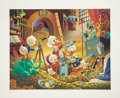 Original Comic Art:Miscellaneous, Carl Barks An Embarrassment of Riches Limited Edition Print77/395 (Another Rainbow, 1983).... (Total: 2 Items)