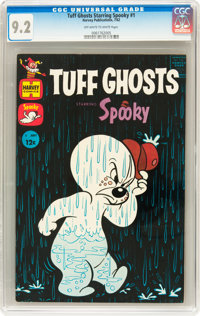 Tuff Ghosts Starring Spooky #1 (Harvey, 1962) CGC NM- 9.2 Off-white to white pages