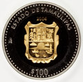 Mexico, Mexico: Estados Unidos Bi-Metallic gold and silver 100 Pesos 2004,...