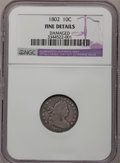 Early Dimes: , 1802 10C --Damaged--NGC Details. Fine. NGC Census: (0/26). PCGSPopulation (0/35). Mintage: 10,975. Numismedia Wsl. Price fo...