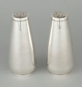 Silver Holloware, American:Other , A PAIR OF AMERICAN SILVER SALT AND PEPPER SHAKERS . InternationalSilver Co., Meriden, Connecticut, circa 1970. Marks: INT...(Total: 2 Items Items)