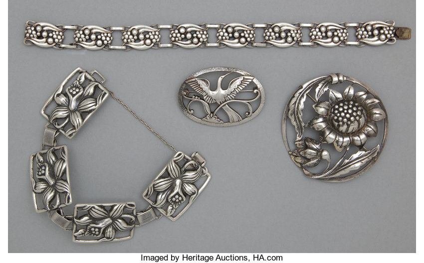 Danecraft Providence Silver Smalls Other A Group Of American Jewelry